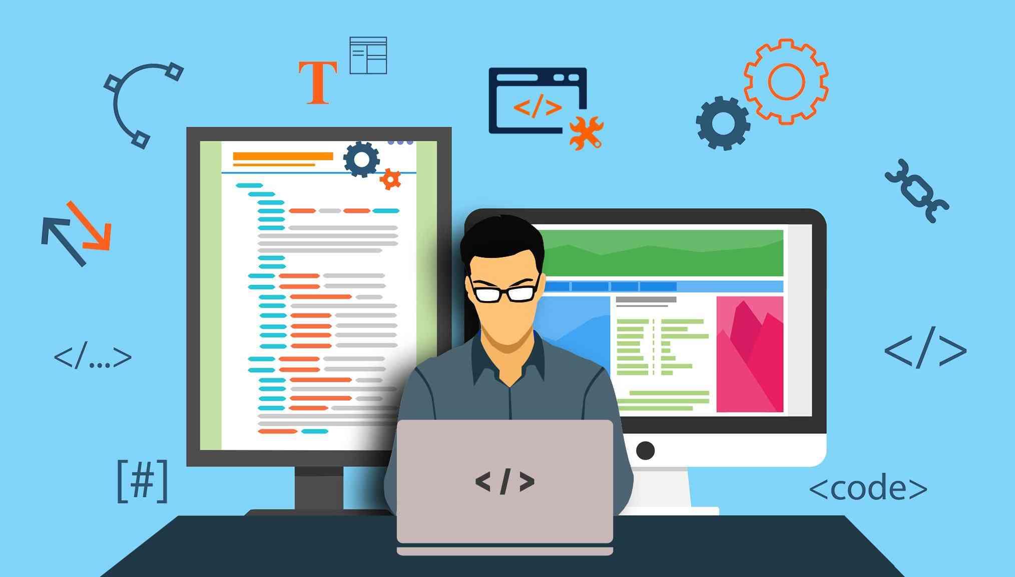 Front-end web development tutorials